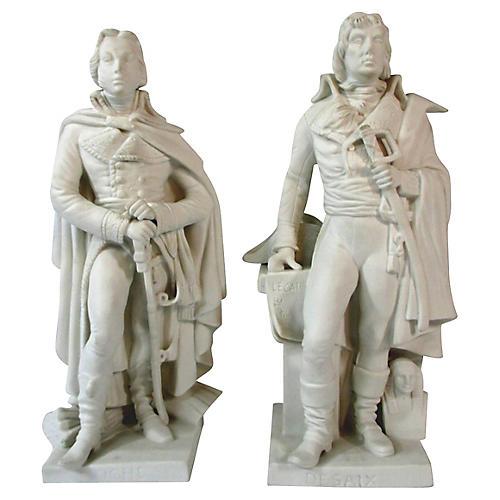 Parian Ware Figurines Desaix & Hoche