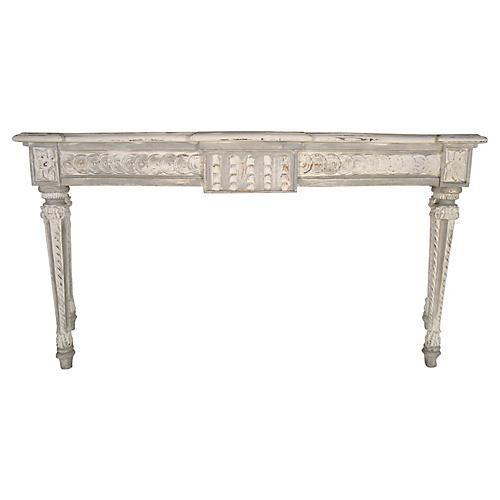 French Louis XVI-Style Console