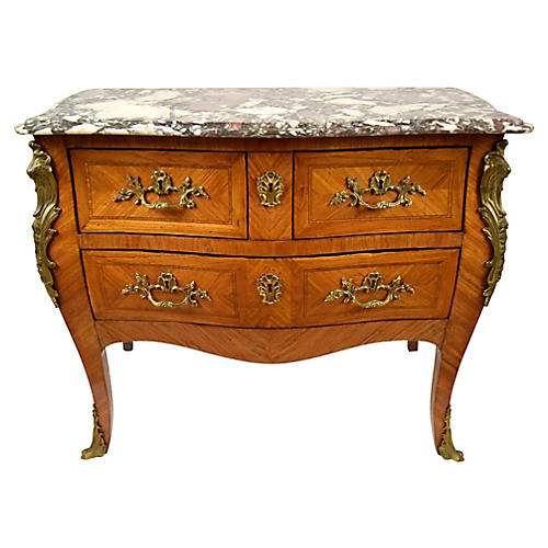 Antique French Louis XV Chest of Drawers