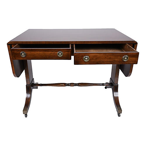 English Mahogany Sofa Table