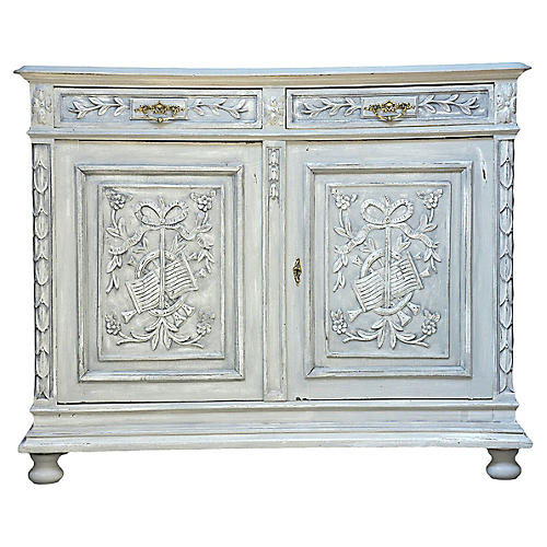 Louis XVI-Style French Buffet, c. 1900