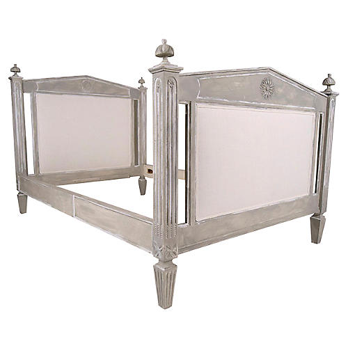 Empire Style French Twin Bed Frame