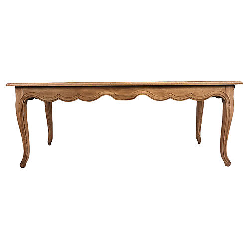 French Provincial-Style Dining Table