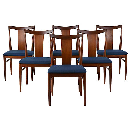Set of Six Rasmus Solberg Dining Chairs