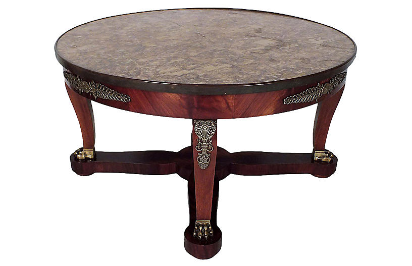 Early 20th Century Circular Coffee Table