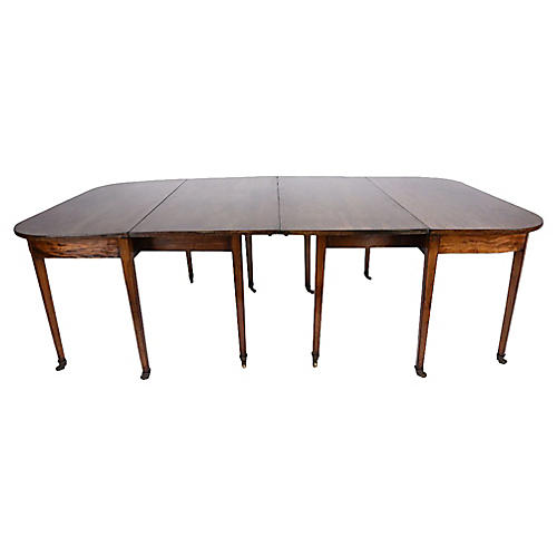 Early 19th C. Federal-style Dining Table