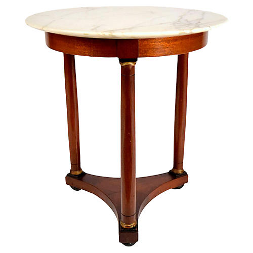 Vintage Empire Style Side Table
