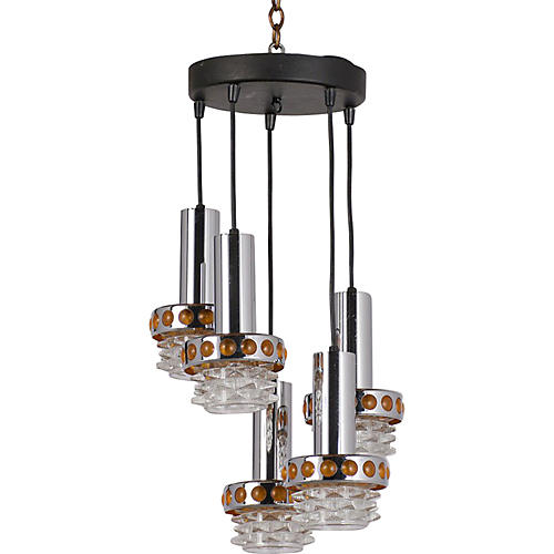 5 Light Modern Chandelier