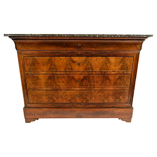 1830's Louis Philippe Chest of Drawers