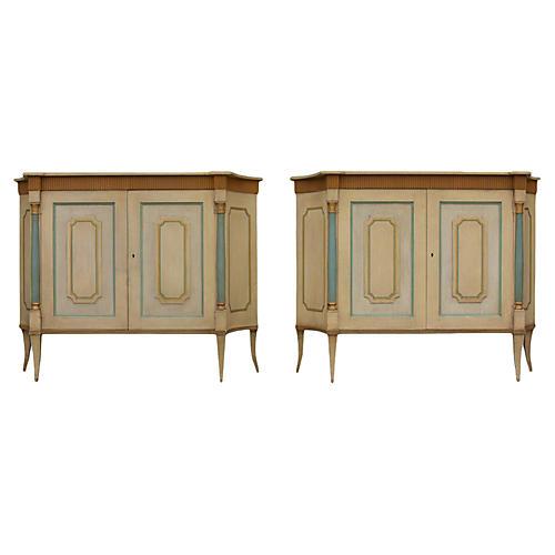 Pair of Venetian Sideboards by Baker