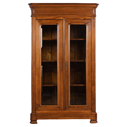 Double Door Louis Philippe Bookcase