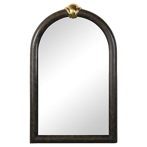 Vintage Regency Style Wall Mirror