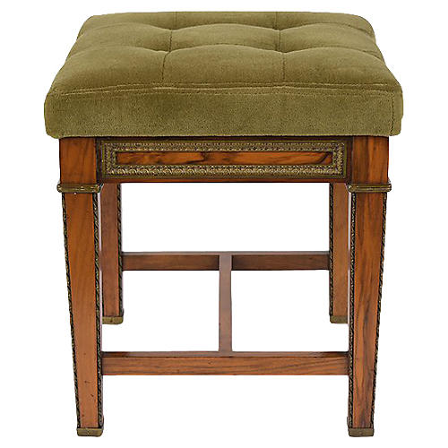 Antique French Louis XVI Style Footstool
