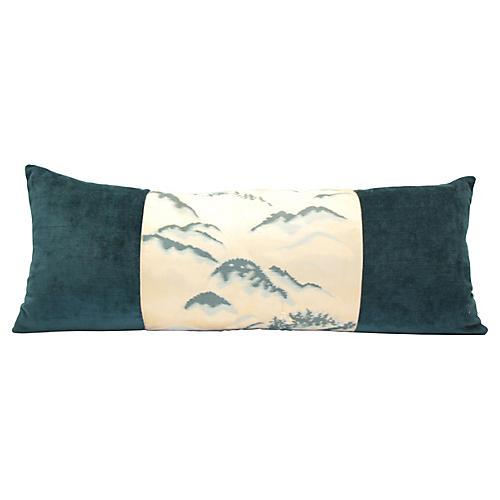 Blue Mountain Obi Pillow
