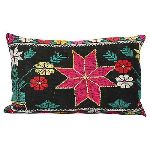 Suzani Star Pillow