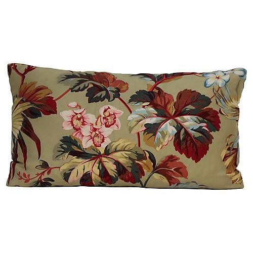 Sage Palm Pillow