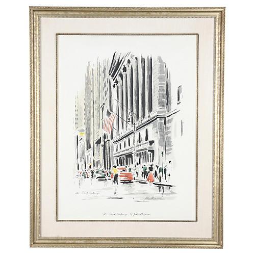 The Stock Exchange by John Haymson