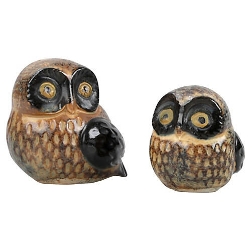 Signed Otagiri OMC Japan Owls, S/2