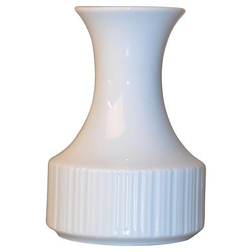 White Porcelain Rosenthal Vase Germany