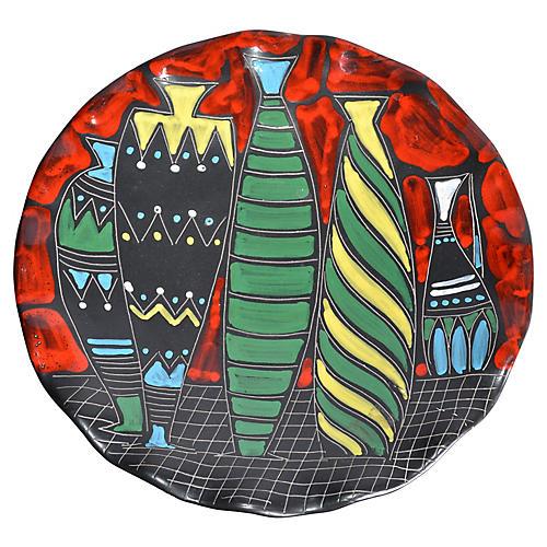 Italian Vases Wall Plate