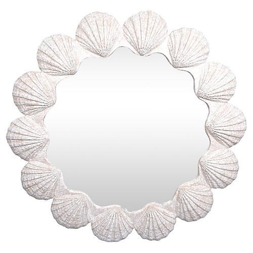 Modern Shell Mirror