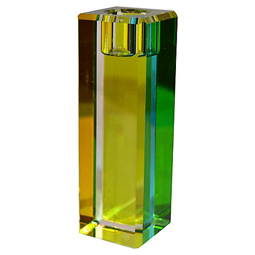 Lenox Jules Point Green Candlestick