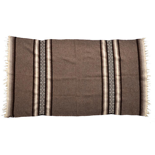 1920s Mexican Mayo Wool Blanket
