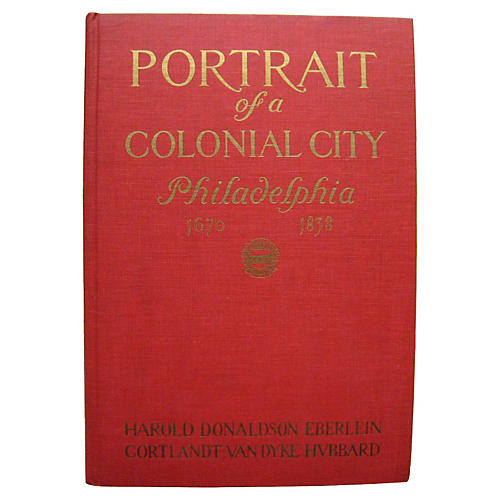 Portrait of A Colonial City, Signed